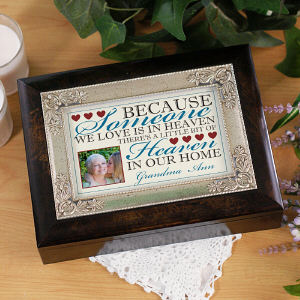 Personalized Memorial Music Keepsake Box | Personalized Keepsake Box