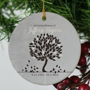 In Loving Memory Personalized Ornament
