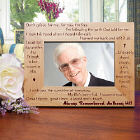 Always Remembered Memorial Wood Picture Frame