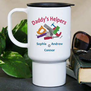 Personalized Helpers Travel Mug