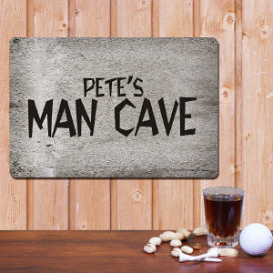 Personalized Man Cave Metal Wall Sign 625834