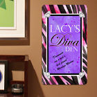 Personalized Diva Den Metal Wall Sign 638554