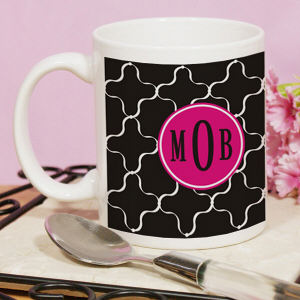 Monogram Madness Mug | Customizable Coffee Mugs