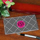 Monogram Madness Checkbook Cover