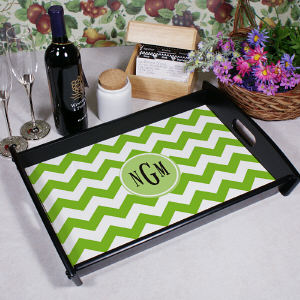 Monogram Madness Serving Tray