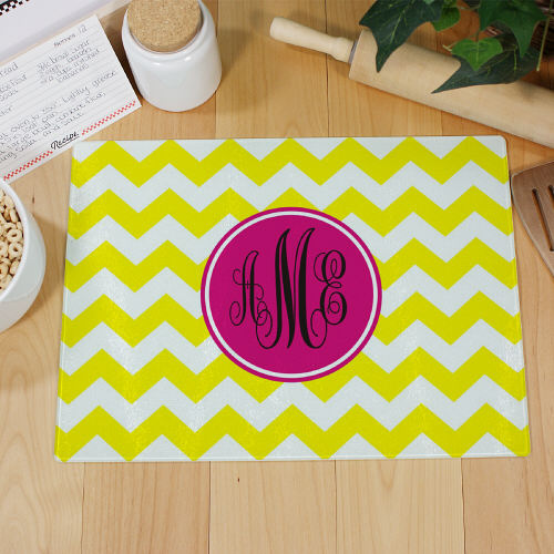 Monogram Madness Cutting Board | Personalized Cutting Boards