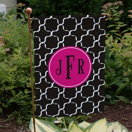 Monogram Madness Garden Flag 83062952