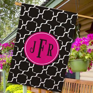 Monogram Madness House Flag