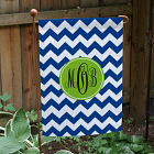 Monogram Madness Garden Flag