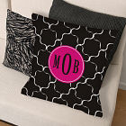 Monogram Madness Throw Pillow