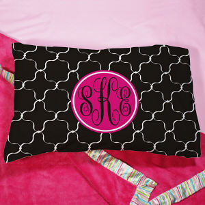 Monogram Madness Pillow