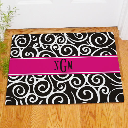 Monogram Madness Floor Mat | Monogram Doormat