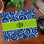 Monogram Madness Mouse Pad