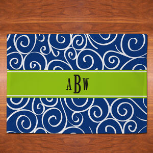 Monogram Madness Placemat