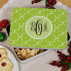 Monogram Madness Cookie Tin