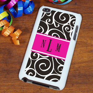 Monogram Madness iPod Touch Case