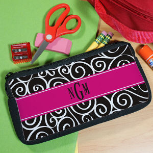 Monogram Madness Pencil Case