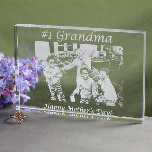 Personalized Number One Mom Photo Keepsake | Custom Gifts For Mom