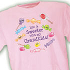 Life Is Sweeter Personalized T-shirt