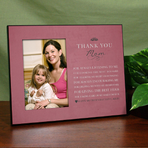 Personalized Thank You Mom Printed Frame 475766