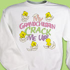 Crack Me Up Personalized Sweatshirt