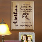 Personalized Mother Wood Plaque