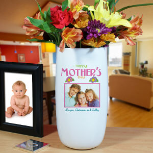 Personalized Happy Mother's Day Photo Vase U420118