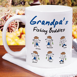 Personalized Fishing Buddies Mug