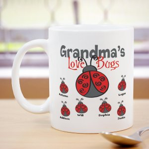 Personalized Love Bugs Coffee Mug 249480