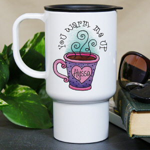 Personalized You Warm Me Up Mug