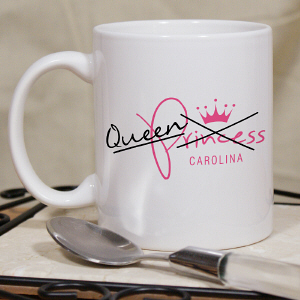 Personalized Queen Mug