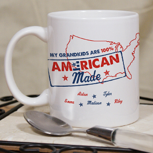 Personalized Patriotic Mug | Customizable Coffee Mugs