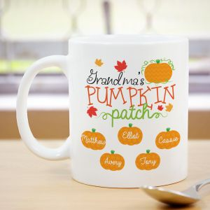 Personalized Pumpkin Patch Mug 278910X