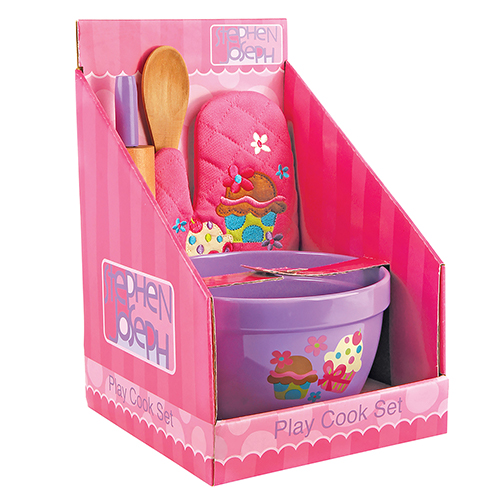 Cupcake Play Cooking Set for Kids | Pretend Play Kitchen