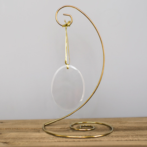 Gold Spiral Ornament Stand | Ornament Stand