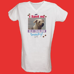 I Spoil My Dog Personalized Photo Nightshirt
