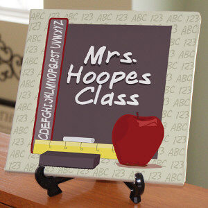 Teachers Class Personalized Wall Canvas