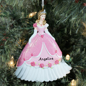 Personalized Princess Ornament