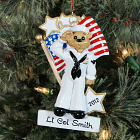 Personalized U.S. Navy Ornament