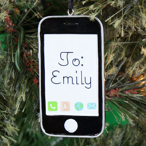 Personalized IPhone Ornament