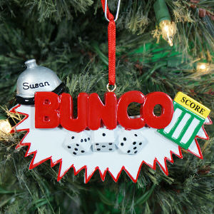 Personalized Bunco Ornament