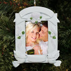 Wedding Frame Christmas Ornament