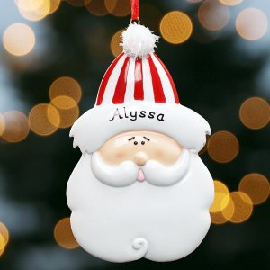 Santa Christmas Ornament