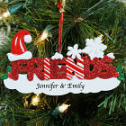 Friends Personalized Christmas Ornament