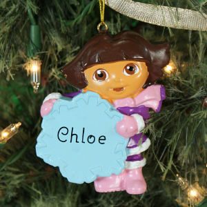 Personalized Dora The Explorer Ornament