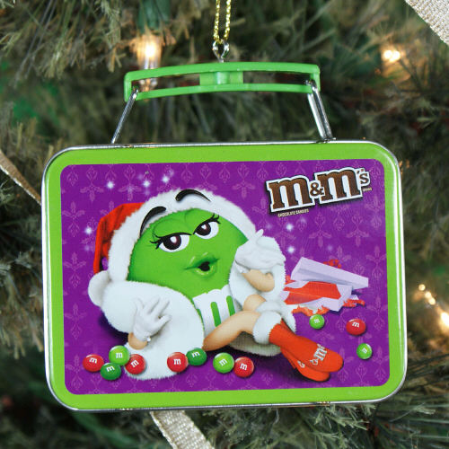 M&M Lunch Box Ornament NP00039