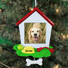 Personalized Dog House Photo Ornament