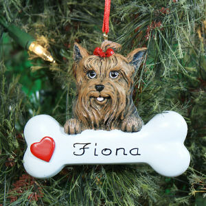 Yorkshire Terrier Personalized Pet Ornament 861253