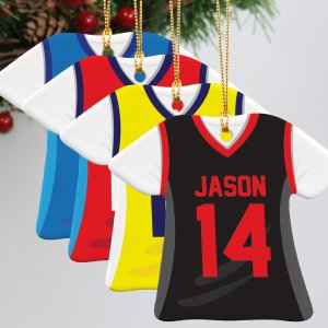 Basketball Jersey Ornament