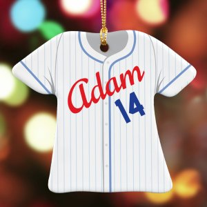 Personalized Baseball Ornament U796363